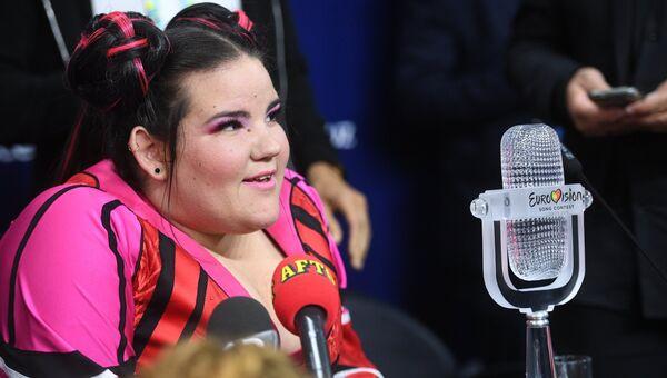 Певица Нетта Барзилай, победившая в финале международного конкурса Евровидение-2018