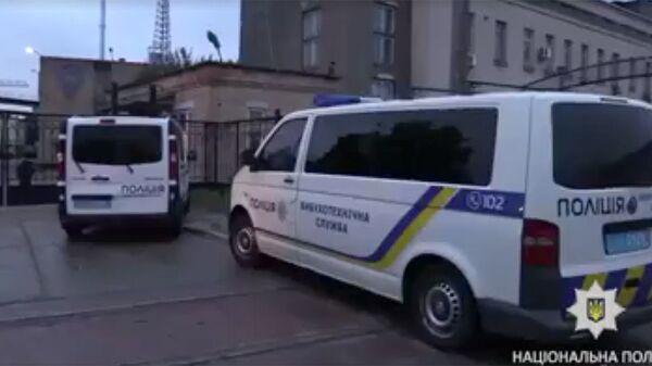 Полицейские автомобили на Украине. Архивное фото