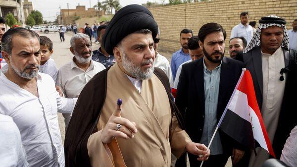 Иракский политик Муктада ас-Садр. Архивное фото