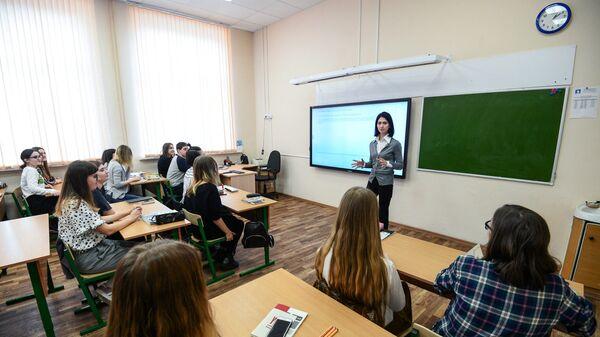 Школьникам страны расскажут о волонтёрстве на всероссийском открытом уроке