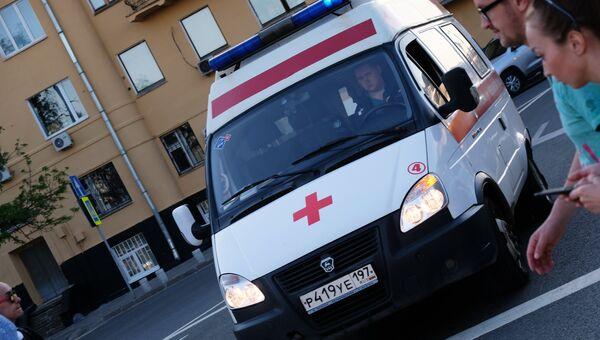 Автомобиль скорой помощи в Москве. Архивное фото