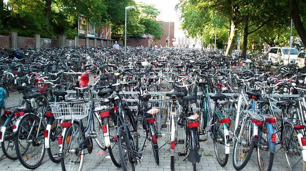 Велопарковка в Мюнстере