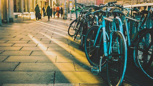 Велопарковка в Дублине