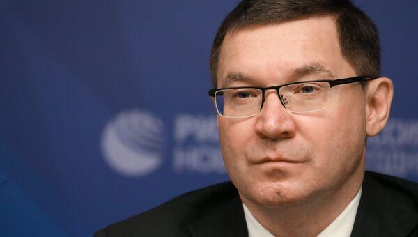 Глава Минстроя Росии Владимир Якушев