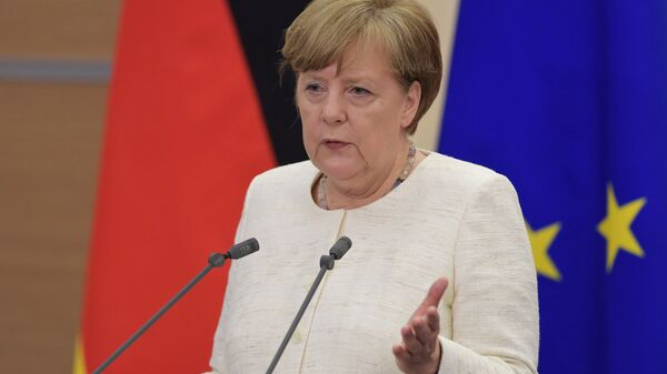 Федеральный канцлер ФРГ Ангела Меркель