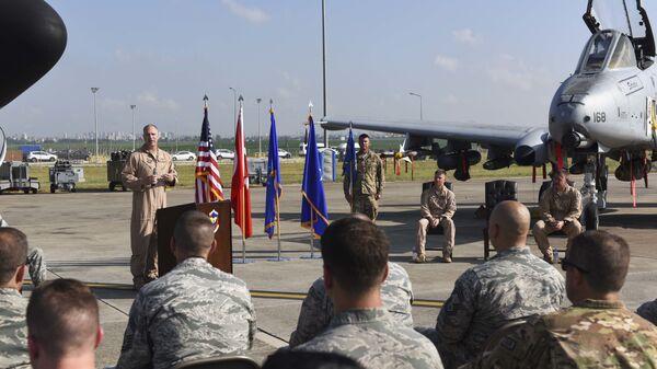Военнослужащие ВВС США на авиабазе Инджирлик, Турция