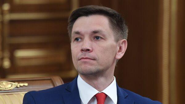 Министр цифрового развития, связи и массовых коммуникаций РФ Константин Носков