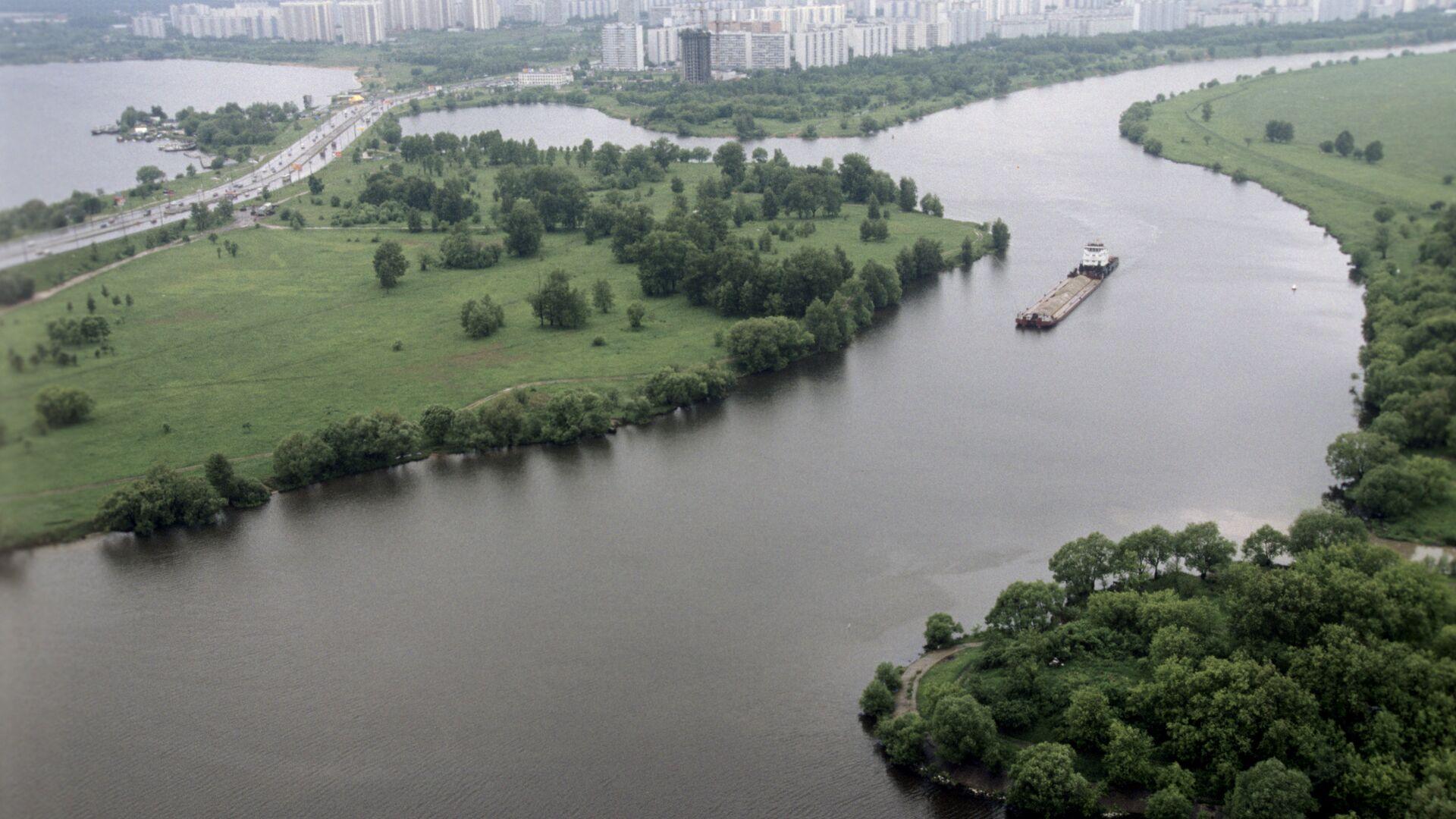 Вид на Москву-реку и район Строгино - РИА Новости, 1920, 23.10.2020