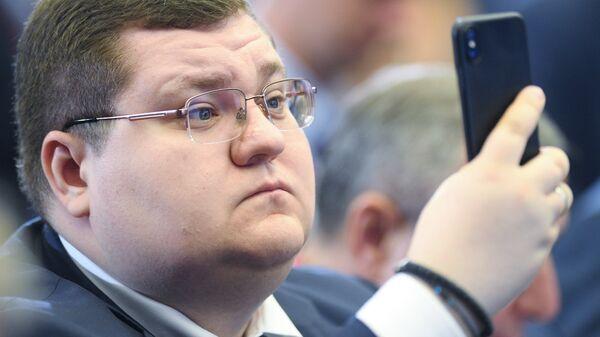 Бизнесмен Игорь Чайка на Петербургском международном экономическом форуме. 24 мая 2018