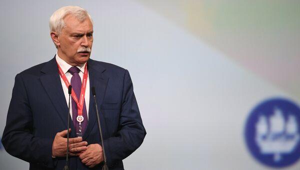 Губернатор Санкт-Петербурга Георгий Полтавченко. Архивное фото