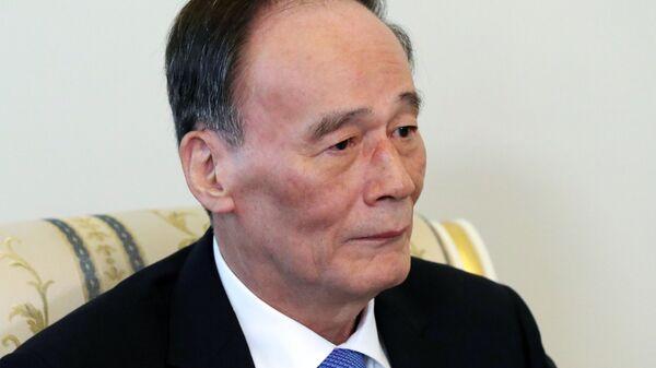 Заместитель председателя Госсовета КНР Ван Цишань
