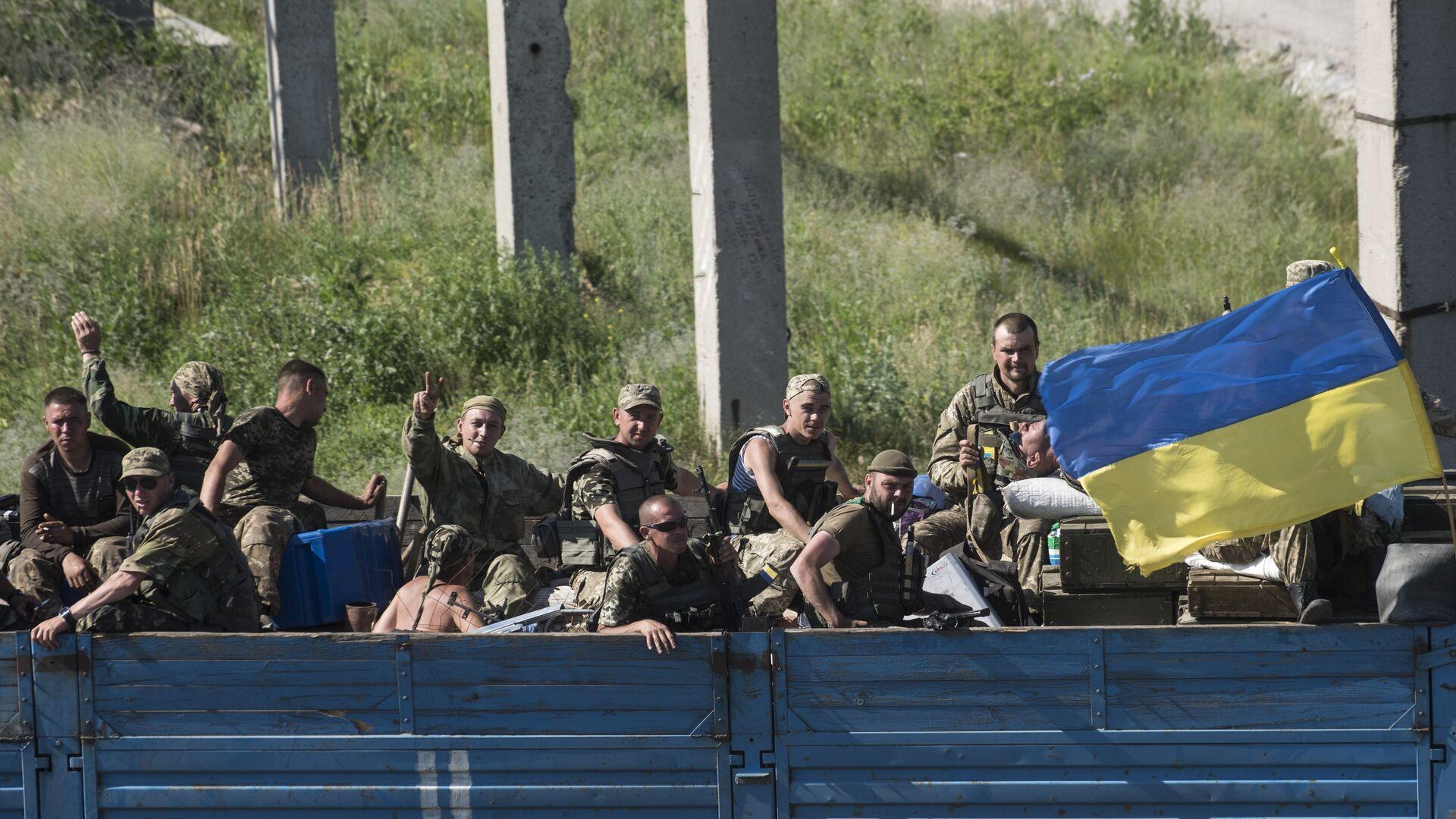 Украинские военные в Луганской области. Июнь 2018 - РИА Новости, 1920, 14.10.2021