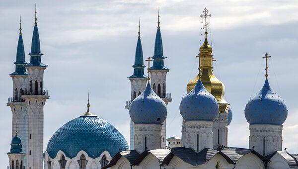 Мечеть Кул-Шариф и Благовещенский собор. Архивное фото