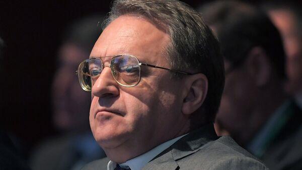 Заместитель министра иностранных дел РФ Михаил Богданов на форуме Примаковские чтения
