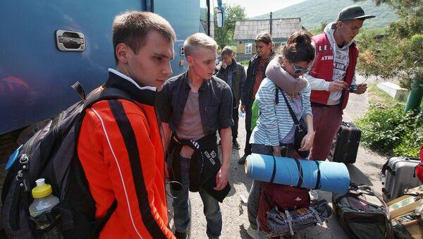 В Лазовском заповеднике начал работу экологический студотряд Тигр