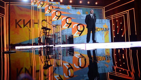 Президент Кинотавра, продюсер Александр Роднянский на церемонии открытия 29-го российского фестиваля Кинотавр