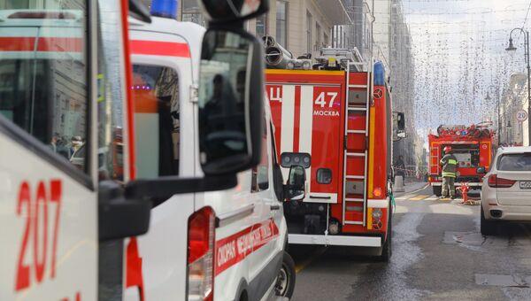 Пожарные расчеты МЧС РФ
