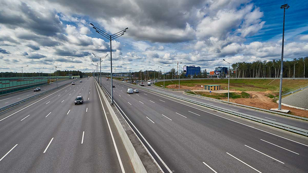 Участок трассы М-11 Москва – Санкт-Петербург