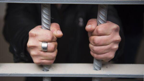Заключенный в исправительной колонии. Архивное фото