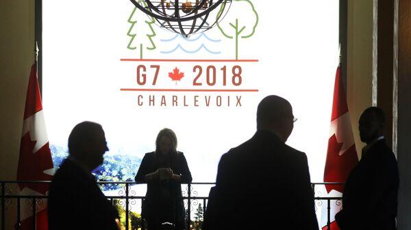 Логотип саммита G7 в Квебеке, Канада
