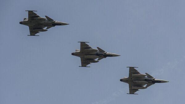 Многоцелевые истребители Saab JAS 39 Gripen