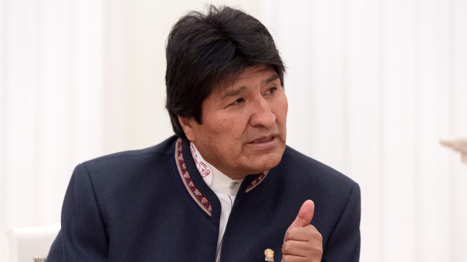 Президент Боливии Эво Моралес - РИА Новости, 1920, 29.02.2020
