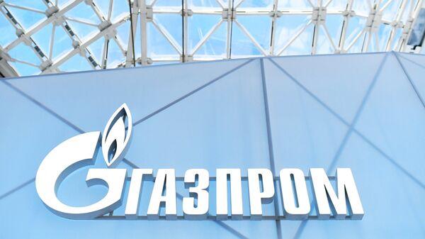 Эмблема ПАО Газпром