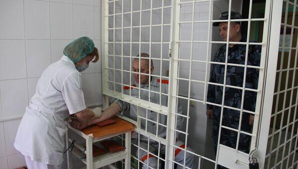 В процедурном кабинете больницы в ИК-3 во Владимире
