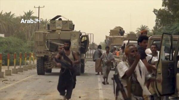 Военные силы Саудовской Аравии собираются для отбития международного аэропорта в Йемене, находящегося в городе Ходейда, у повстанцев-хуситов. Архивное фото