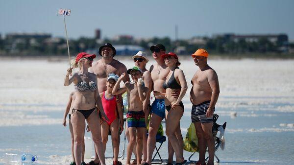 Российские туристы. Архивное фото