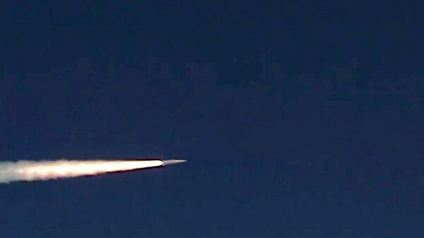 Учебно-боевой пуск гиперзвуковой ракеты Кинжал