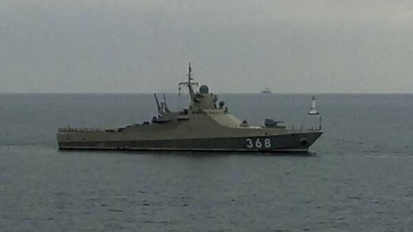 Головной патрульный корабль проекта 22160 Василий Быков