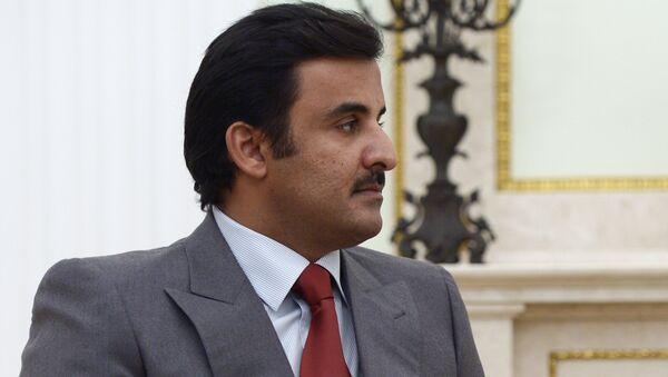 Эмир государства Катар шейх Тамим бен Хамад Аль Тани. Архивное фото