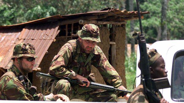 Солдаты Особой воздушной службы (SAS) Великобритании