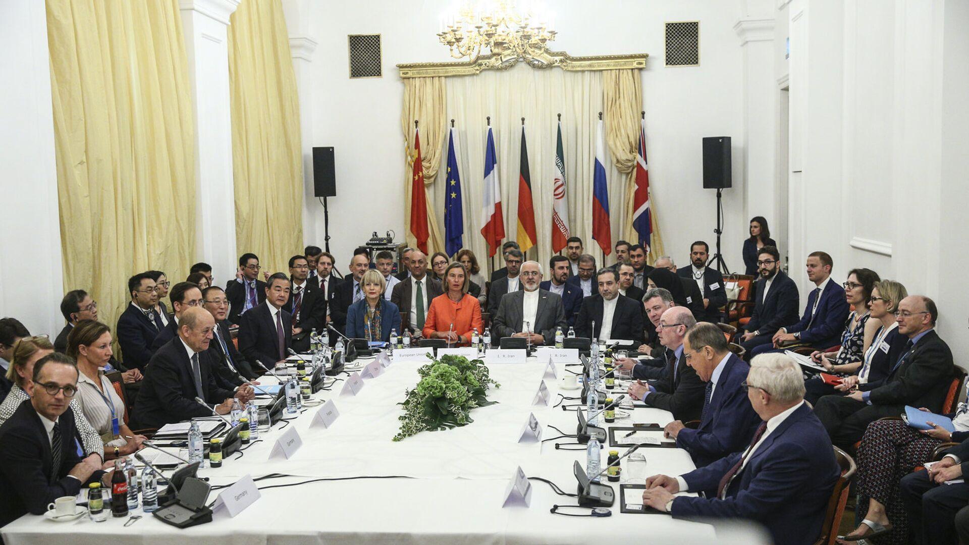 В Вене состоялась Министерская встреча по Иранской ядерной программы. 6 июля 2018 - РИА Новости, 1920, 02.04.2021