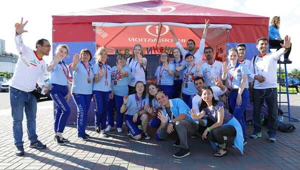 В столице Татарстана работали добровольцы из 25 стран мира, 45 субъектов России Федерации и 11 районов республики