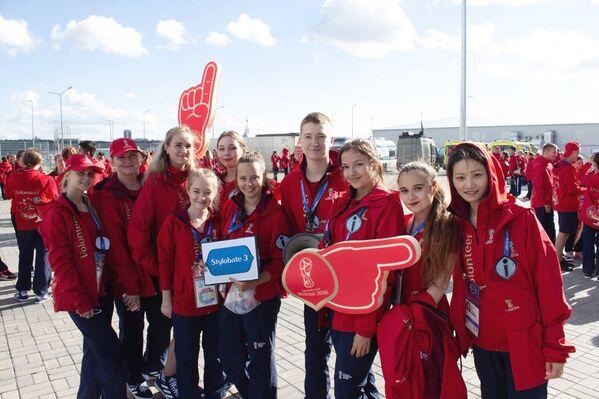 На ЧМ-2018 в Казани было задействовано 50 иностранных волонтеров и еще около 20 ребят, которые живут и учатся в Казани, но приехали сюда из Колумбии, Нигерии, Египта и других стран