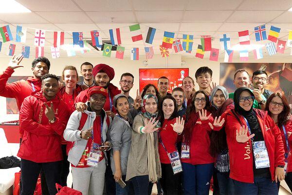 Подготовка волонтеров к ЧМ-2018 проходила в три этапа
