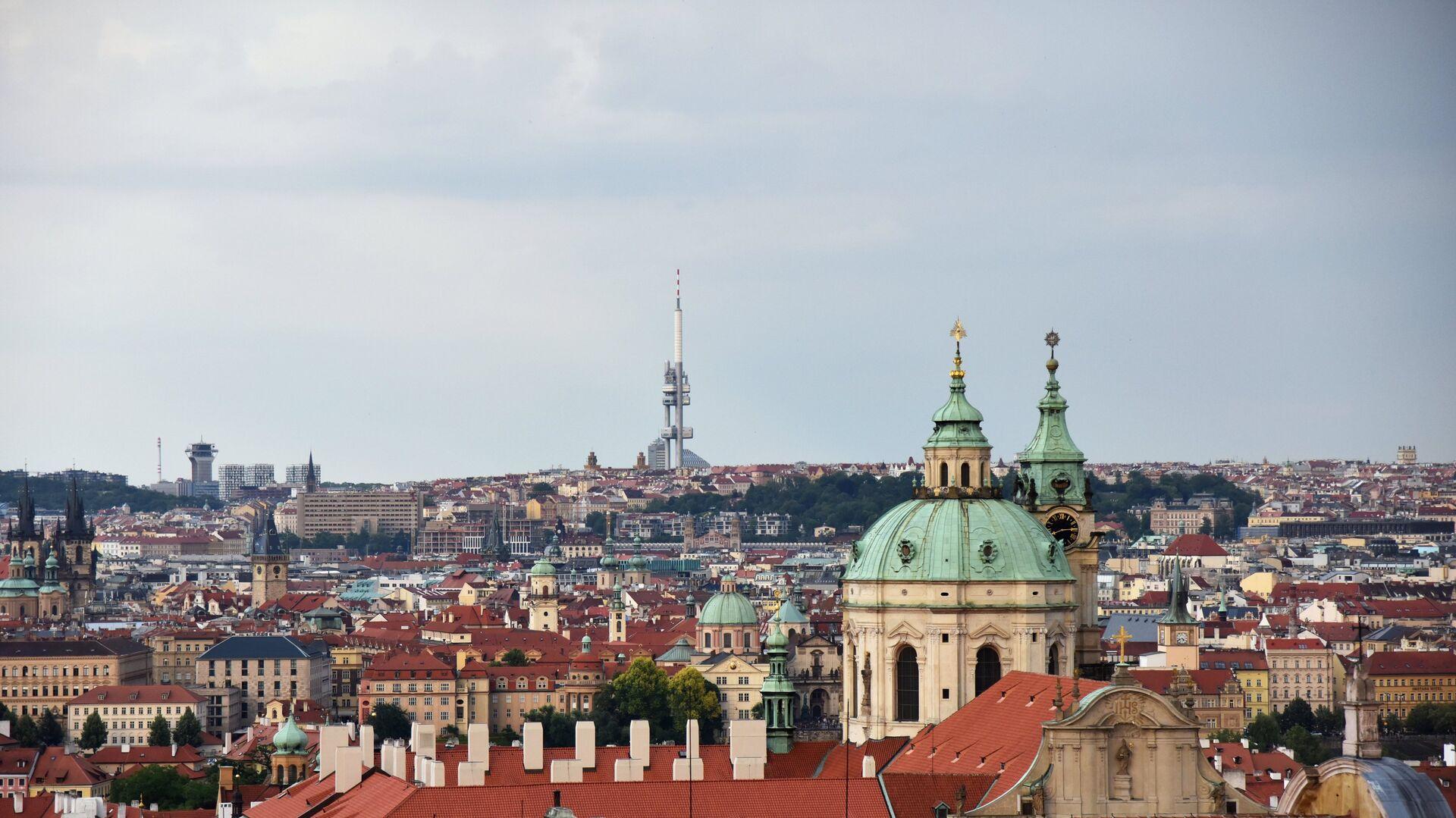 Костел святого Микулаша на Малой Стране в Праге - РИА Новости, 1920, 21.05.2021
