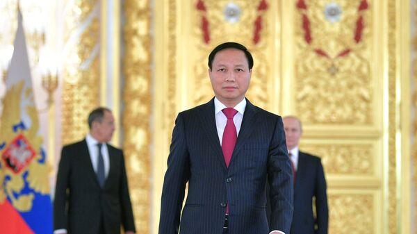 Чрезвычайный и полномочный посол Социалистической Республики Вьетнам Нго Дык Мань