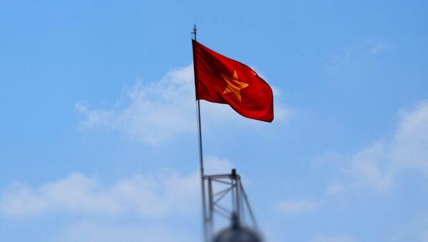 Флаг Вьетнама. Архивное фото