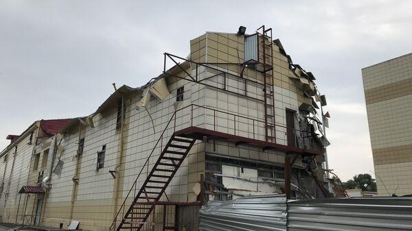 Сгоревший ТЦ Зимняя вишня в Кемерово. 14 июля 2018