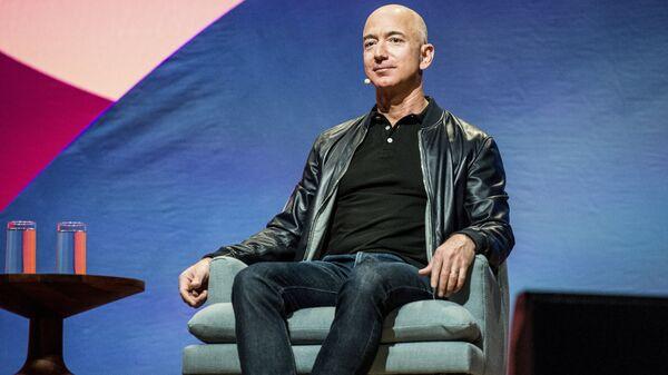 Генеральный директор Amazon Джефф Безос в Лос-Анджелесе