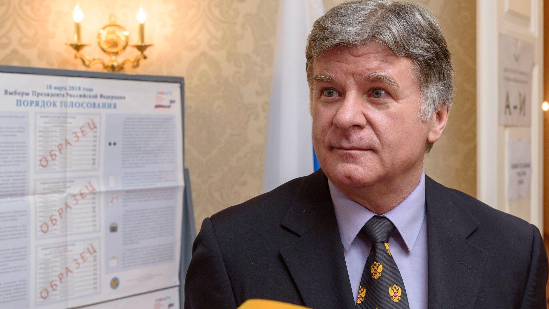 Чрезвычайный и полномочный посол Российской Федерации в Эстонии Александр Петров  - РИА Новости, 1920, 19.09.2021