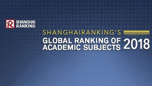 Шанхайский рейтинг Global Ranking of Academic Subjects (ARWU)