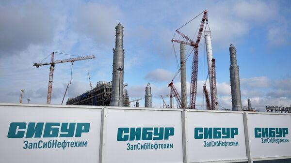 Строительство нефтехимического завода компании Сибур ЗапСибнефтехим в городе Тобольск