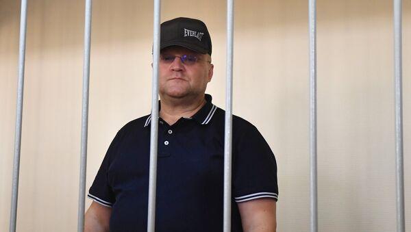 Бывший руководитель Главного следственного управления СК РФ по городу Москве Александр Дрыманов. Архивное фото
