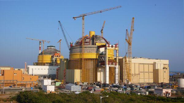 Строительство АЭС Куданкулам. Архивное фото