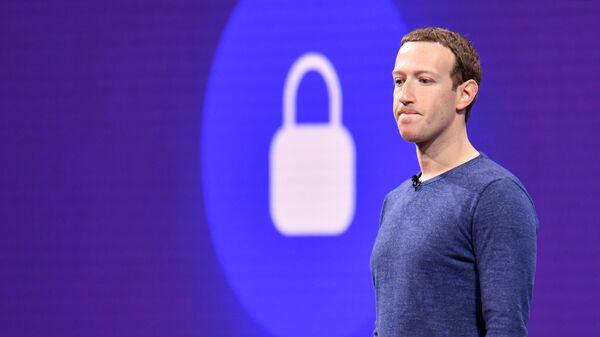 Руководитель компании Facebook Inc. Марк Цукерберг. Архивное фото