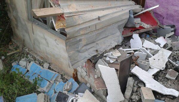 Последствия взрыва в сирийском городе Эс-Сувейда. 25 июля 2018